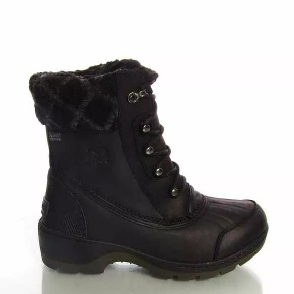 Whistler mid noir Sorel black boots
